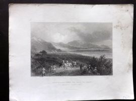 Bartlett Holy Land 1838 Scanderoon, from the Road to Issus. Iskenderun Turkey